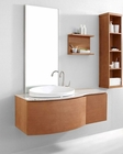 Chestnut Single Bathroom Set Isabelle by Virtu USA VU-ES-1048-AM-CH