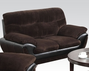 Chocolate Champion Loveseat Wilona by Acme Furniture AC51276