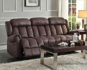 Chocolate Double Reclining Sofa Mankato by Homelegance EL-8535CH-3