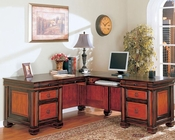 Chomedey Traditional L-Shaped Desk CO800691