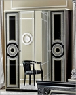 Classic 4 Door Wardrobe Made in Italy Aida 33161AD