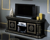 Classic Black and Gold TV Unit 44ENT3732