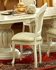 Classic Dining Side Chair in Ivory Made in Italy 33D24 (Set of 2)