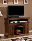 "Classic Flame 56"" TV Console Sterling TS-23IM0468-W502"