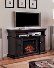 "Classic Flame 60"" Espresso Finish TV Console Pasadena TS-28MM468-E721"