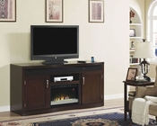 Classic Flame Fireplace TV Console w/ Fridge Endzone TS-26TF8299-E451