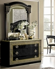 Classic Italian Single Dresser and Mirror Aida 33191AI