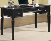 Classic Table Desk with Keyboard Drawer and Power Outlet CO800913
