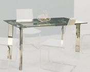 Clear Glass Top Dining Table OL-DT12