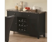Coaster Anisa Dining Server w/ Wine Rack CO-102795