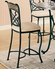 Coaster Bar Chair w/ Marble Style Inlay Ardith CO-120669 (Set of 2)