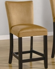 Coaster Bar Stool Bloomfield in Yellow CO-100589YLW (Set of 2)