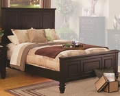 Coaster Bed Sandy Beach in Cappuccino CO201991BED