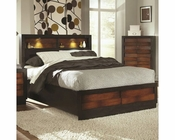 Coaster Bed w/ Headboard Storage Rolwing CO-202911BED
