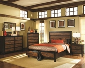 Coaster Bedroom Set Bed w/ Storage Drawers Conway CO-202300Set