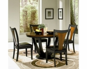 Coaster Boyer Dining Set w/ Round Dining Table CO-102091Set