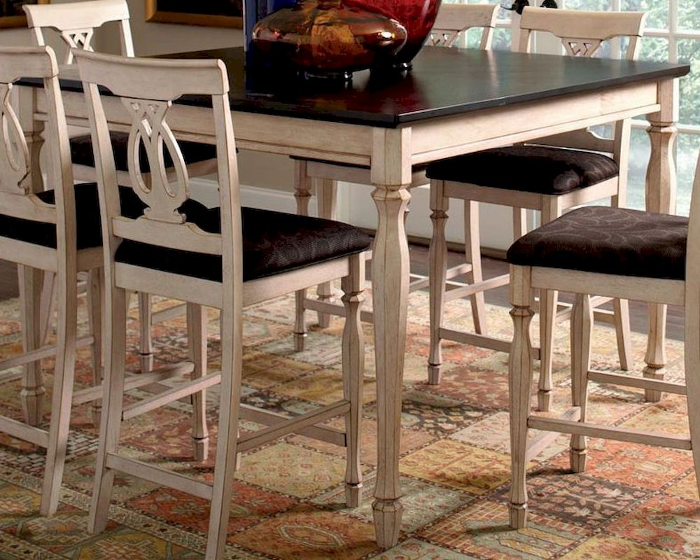 Dining Table Co Coaster Camille Transitional Counter Height Dining Table Co 103588