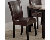 Coaster CArter Dining Side Chair in Brown CO-102263 (Set of 2)