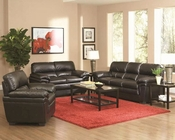 Coaster Casual Leather-Like Sofa Set Fenmore CO-502951Set