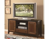 Coaster Casual TV Console w/ Beveled Doors CO-700731