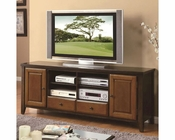 Coaster Casual TV Console w/ Beveled Doors CO-700732