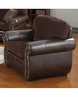Coaster Chenille Fabric/ Vinyl Chair Florence CO-504043