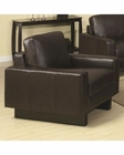Coaster Contemporary Leather Chair Ava CO-504483