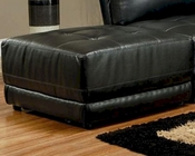 Coaster Contemporary Leather Ottoman Kayson CO-5008-OT