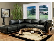 Coaster Contemporary Leather Sectional Sofa Kayson CO-5008-SS