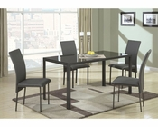 Coaster Contemporary Metal Dining Set CO-103741Set