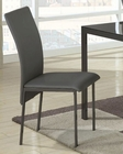 Coaster Contemporary Vinyl Dining Chair CO-103742 (Set of 2)