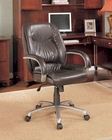 Coaster Contoured Office Chair in Brown CO-800182