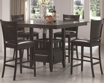 Coaster Dining Counter Height Set Jaden Co 100958set