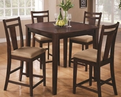 Coaster Dining Espresso Pub Set CO-150159Set