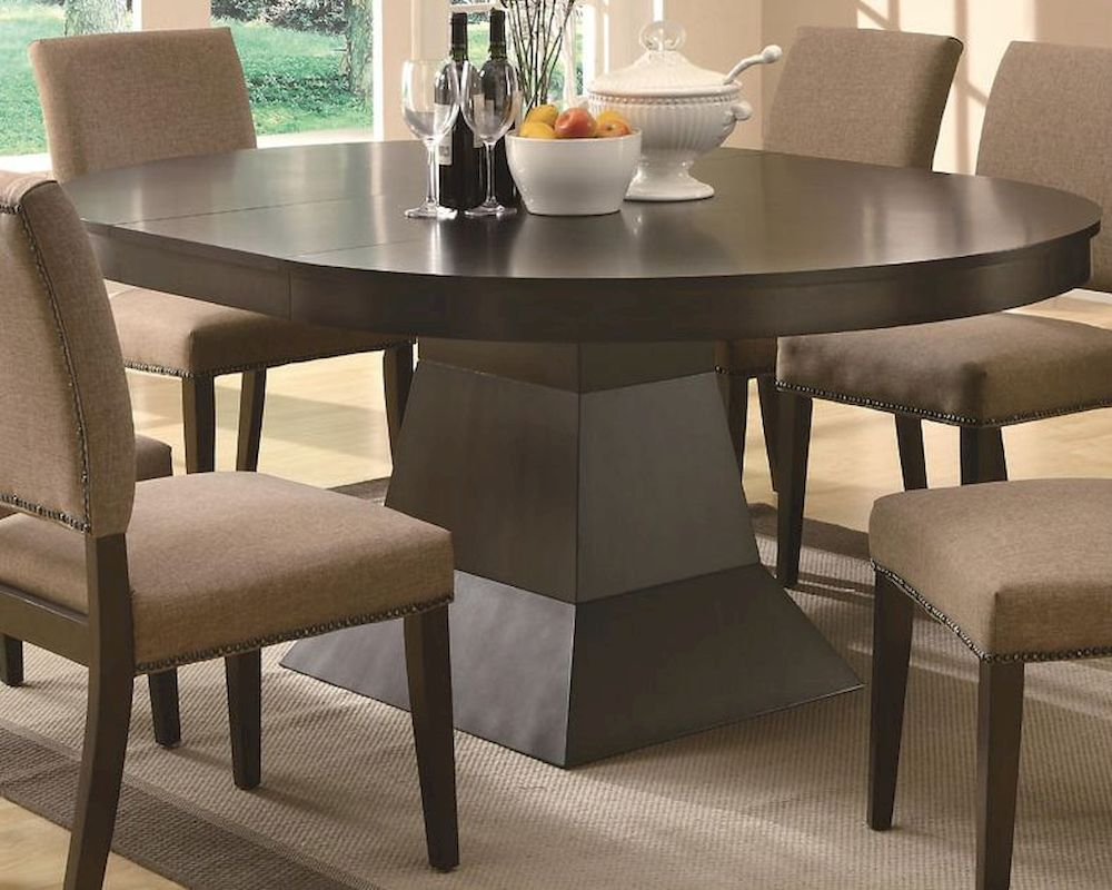 Coaster Dining Oval Table W Extension Myrtle Co 103571