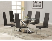 Coaster Dining Set CO-102320Set-BW