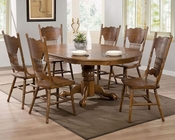 Coaster Dining Set w/ Oval Table Brooks CO-104270Set