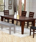 Coaster Dining Table Brown Cherry Finish CO-101881