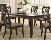 Coaster Dining Table w/ Leaf Extensions Meredith CO-103531