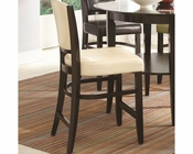 *Coaster Dining Counter Stool  in Ivory CO-103689IVY (Set of 2)