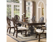 Coaster Double Pedestal Dining Table Tabitha CO-101037