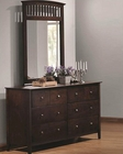 Coaster Dresser & Mirror Tia CO2020834