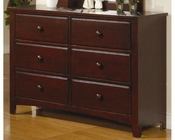 Coaster Furniture Dresser in Dark Cappuccino Parker CO400293