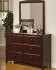 Coaster Furniture Dresser with Mirror Parker CO400293-4