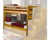 Coaster Furniture Full over Full Bunk Bed Wrangle Hill CO460096