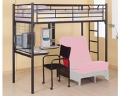 Coaster Furniture Twin Bunk Bed w/ Futon Chair & Desk Bunks CO2209