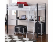 Coaster Furniture Twin Loft Bed with Desk LeClair CO460281