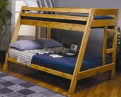 Coaster Furniture Twin over Full Bunk Bed Wrangle Hill CO460093