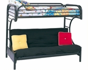 Coaster Furniture Twin over Full Futon Bunk Bed Fordham CO2253K