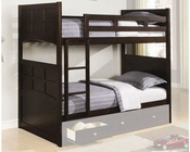 Coaster Furniture Twin over Twin Bunk Bed Jasper CO460136